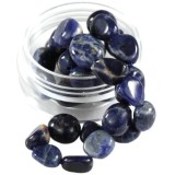 premium smooth chips sodalite 7 - 12 mm