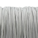 sznurek sutasz Rayon USA 2.5 mm silver grey