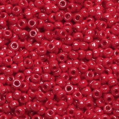 koraliki Miyuki round opaque luster red 11/0 #11-426