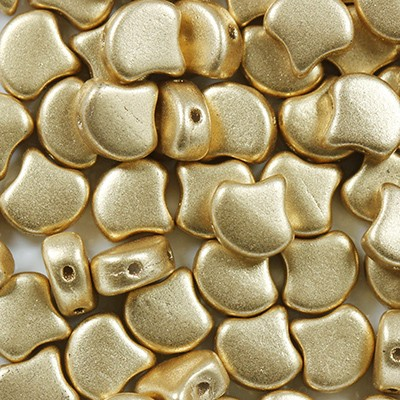 Ginko Perlen pale gold 7.5 mm