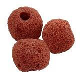 boules volcan  rouge 10 mm