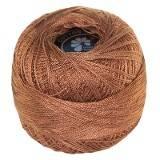 bobine en laine brune