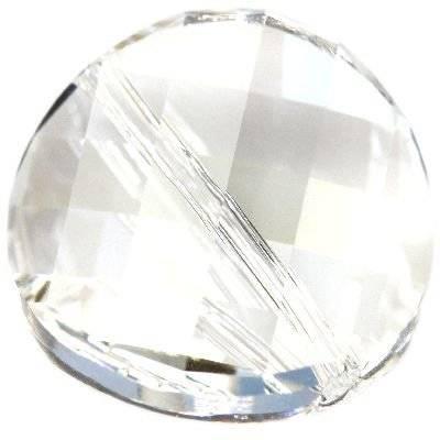 Swarovski twist beads crystal moonlight 14 mm