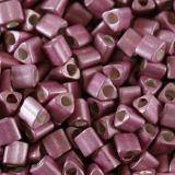 Toho beads triangle galvanized-matte vintage rose 2 mm TG-11-553F