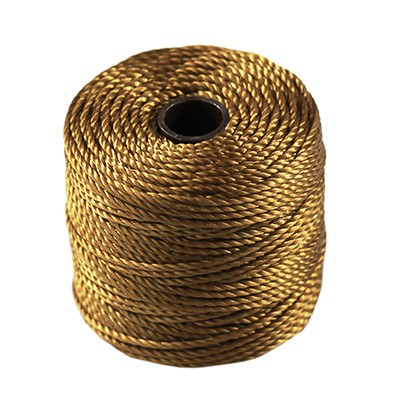 nici S-LON Macrame Tex 400 0.9 mm gold - nić do makramy