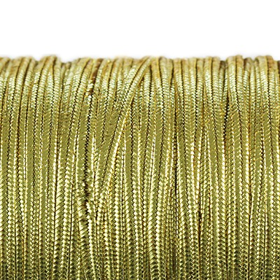 sznurek sutasz Rayon USA 2.5 mm metallic gold