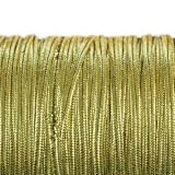 Rayon soutache cord 2.5 mm metallic gold