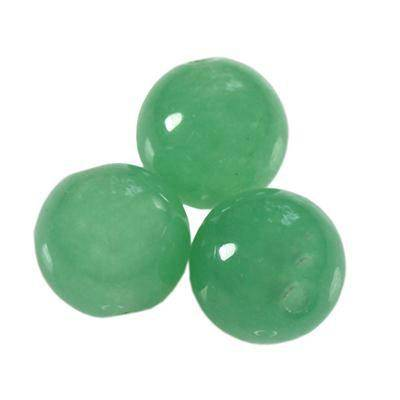 green aventurine beads 6 mm / semi-precious stone