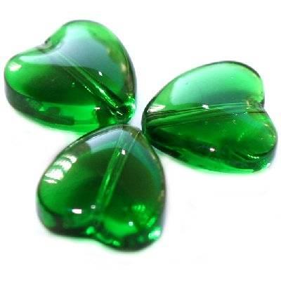 serca zielone 10 mm
