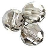 Swarovski round beads crystal satin 6 mm