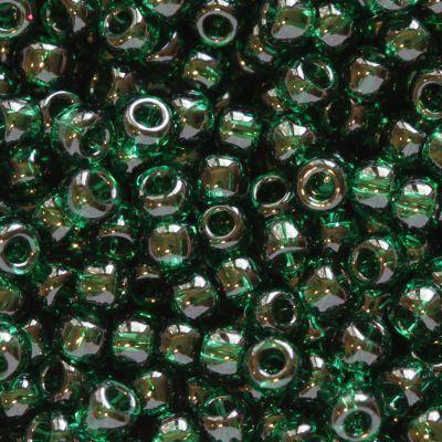 kralen Toho round transparent green emerald 2.2 mm TR-11-939