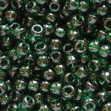 Тохо мъниста/ Toho round transparent green emerald 2.2 mm TR-11-939