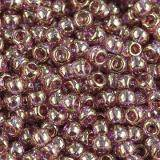 perline Toho round gold-lustered lt amethyst 2.2 mm TR-11-203