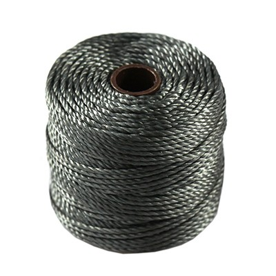 S-lon heavy macrame cord tex 400 gunmetal