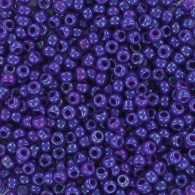 Miyuki round beads opaque cobalt 11/0