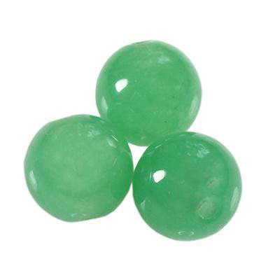 green aventurine beads 8 mm / semi-precious stone