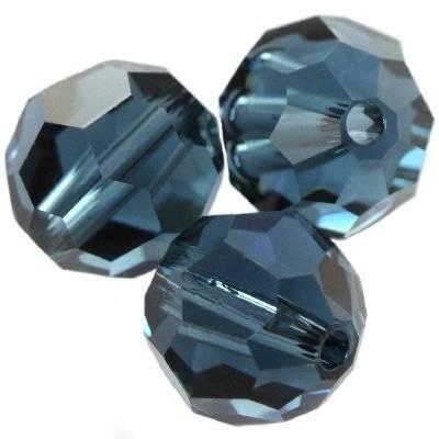 Swarovski round beads montana 8 mm