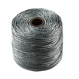 S-lon heavy macrame cord tex 400 grey