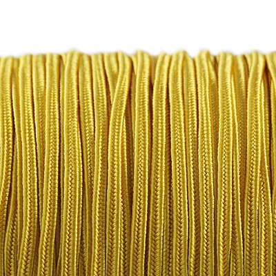 Rayon soutache cord 2.5 mm golden rod