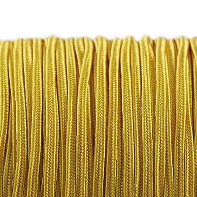 Rayon soutache cord 2.5 mm golden rod