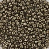 Miyuki round beads duracoat galvanized pewter 11/0 #11-4222