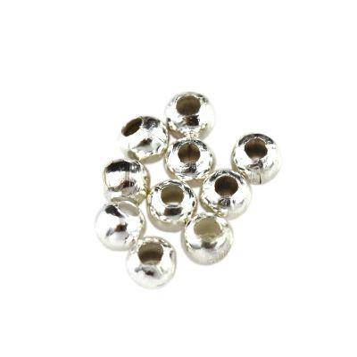 palline decorative 3.2 mm colore d'argento minuteria componenti