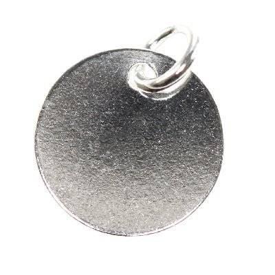 zilver 925 bedeltjes medaille recht