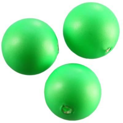 Swarovski crystal pearl neon green 8 mm