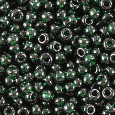 Koraliki Preciosa Rocaille transparent green 2.1 mm / koraliki drobne