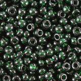 perles Preciosa Rocaille transparent green 2.1 mm