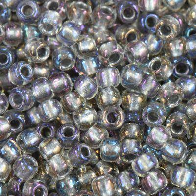 perles Toho round inside-color gold-luster crystal/opaqu 2.2 mm TR-11-266