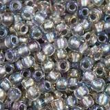 Toho beads round inside-color gold-luster crystal/opaqu 2.2 mm TR-11-266