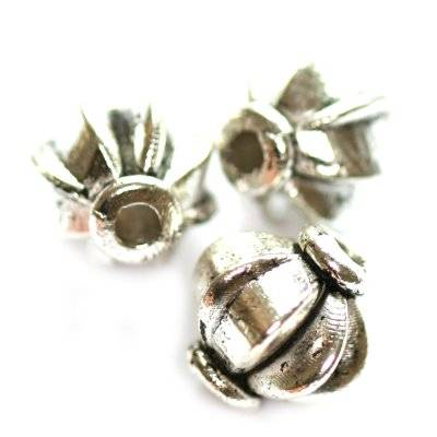 metal bead round 8 mm