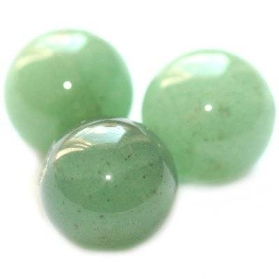 green aventurine beads 12 mm / semi-precious stone