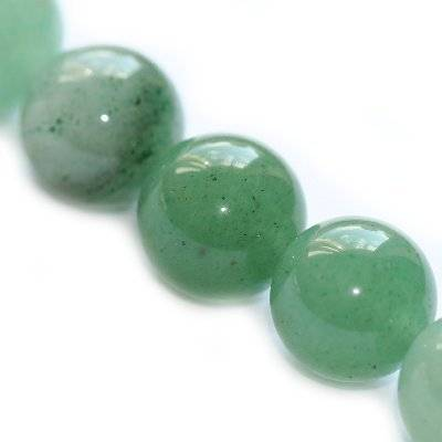 round beads green aventurine 12 mm