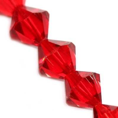 kryształki diamentowe czerwone 10 mm