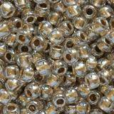 koraliki Toho round gold-lined crystal 2.2 mm TR-11-989