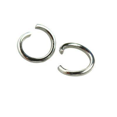 jump ring 5 mm surgical stainless steel 316