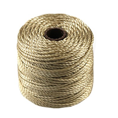 S-lon heavy macrame cord tex 400 lt brown