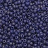 korálky Miyuki round opaque matte luster cobalt 11/0
