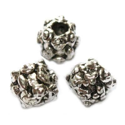 metallici tondi fiocchi di neve 6 mm