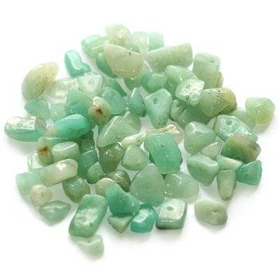 amazonite chips / semi-precious stone