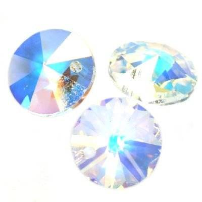 Swarovski rivoli pendants crystal ab 6 mm