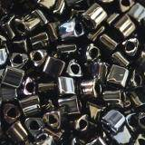 Toho beads triangle metallic iris brown 2 mm TG-11-83