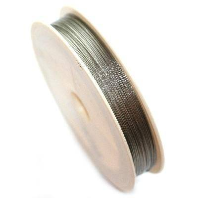 steel wire color silver 0.38 mm