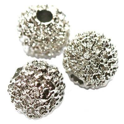 metal bead round 10 mm