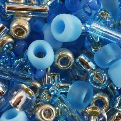 perline Toho mix aozora- blue/silver mix TX-01-3223