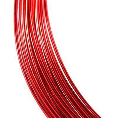 aluminum wire red 0.8 mm
