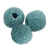 lawa wulkaniczna niebieski 10 mm kamień naturalny barwiony