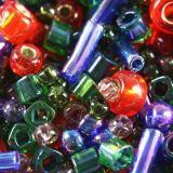 koraliki Toho mix shousei- red/green/blue mix TX-01-3226